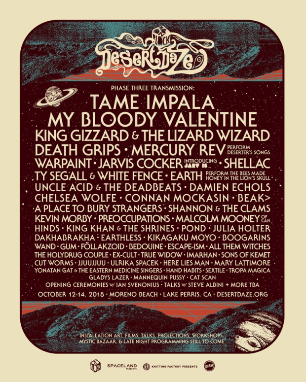 Desert Daze Festival Phase Three
